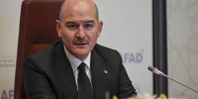 """İçişleri Bakanı Soylu: """"Faruk Fatih Özer'i tanımıyorum"""""""