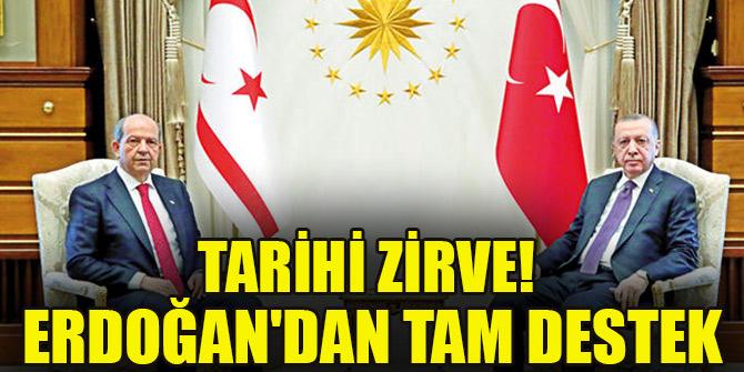 Tarihi zirve! Erdoğan'dan tam destek