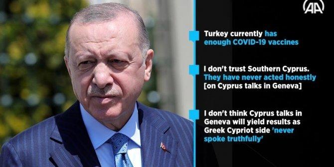 Turkey has enough COVID-19 vaccine: President Erdogan