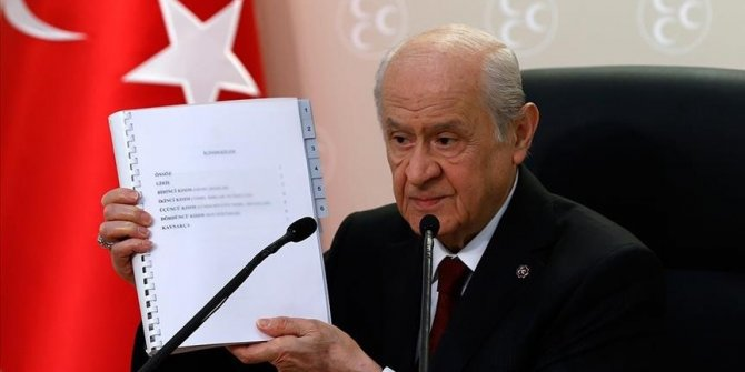 Turkey's MHP introduces proposal for new constitution