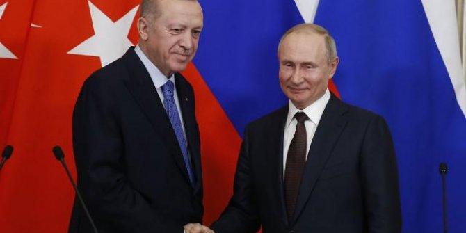 Erdoğan ve Putin Sputnik V aşısının tedarikini görüştü