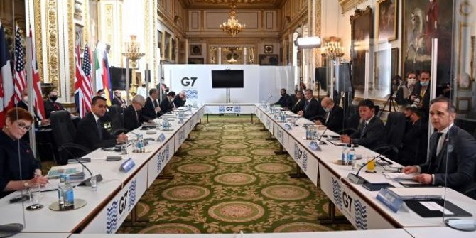 G7 Dışişleri Bakanları Toplantısı ortak bildirgesi açıklandı