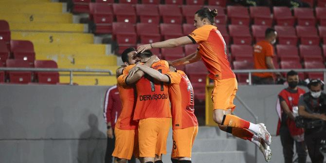 Galatasaray şampiyonluk şansını sürdürmek için sahada