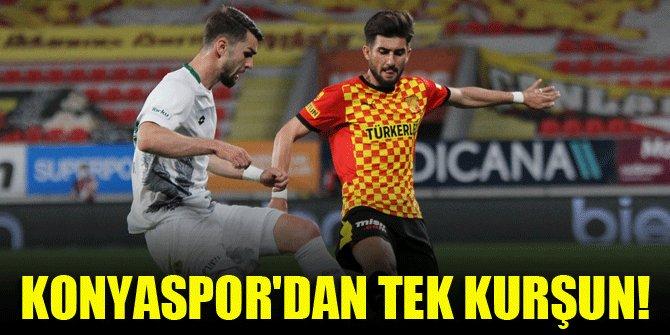 Konyaspor'dan tek kurşun!