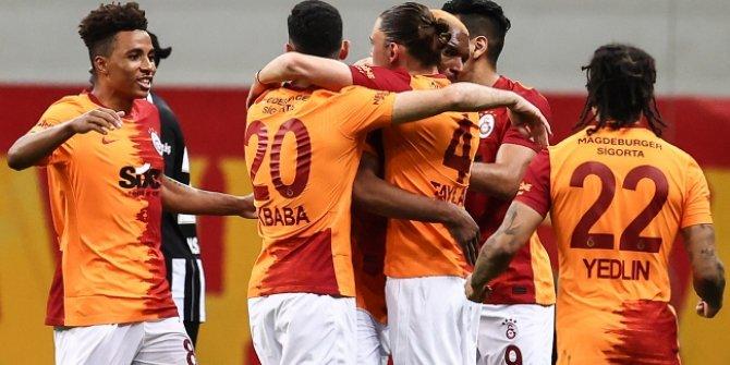 Galatasaray, Beşiktaş'ı 3 golle devirdi