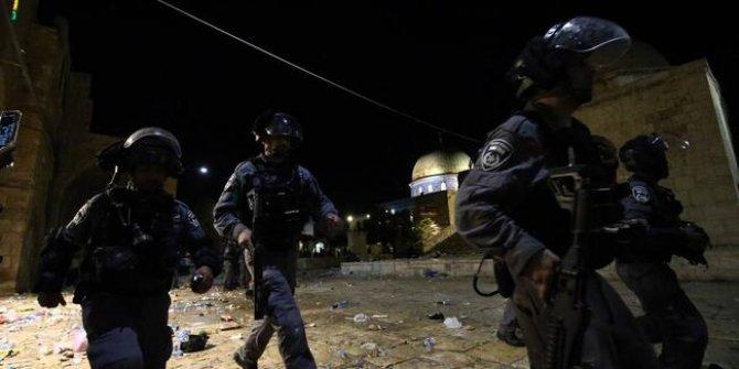 İsrail, Filistinlilere ses bombalarıyla müdahale etti