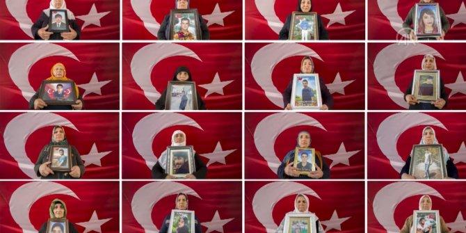 """Diyarbakır annelerinin bu özel günde tek isteği """"evlatları"""""""