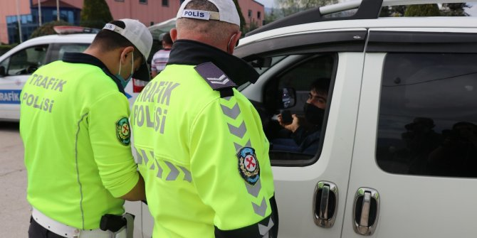 Bolu'da uygulama noktasına girmemek için kaçanlara göz açtırılmıyor