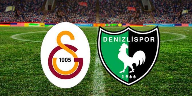Galatasaray yarın Denizlispor ile deplasmanda karşılaşacak