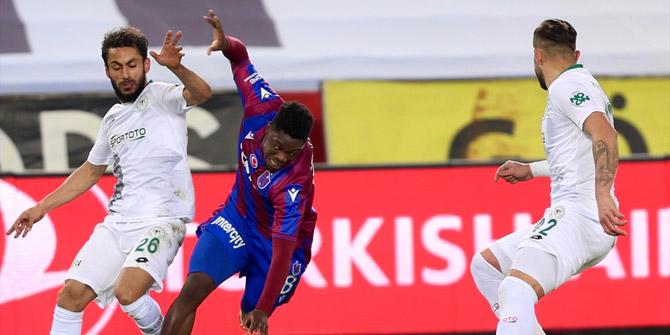 Konyaspor ile Trabzonspor 40. randevuda