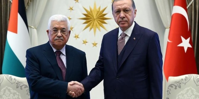 Turkey's Erdogan speaks over phone with Palestinian president, Hamas chief