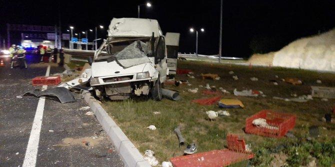 Elazığ'daki minibüs kazasında 1 kişi hayatını kaybetti