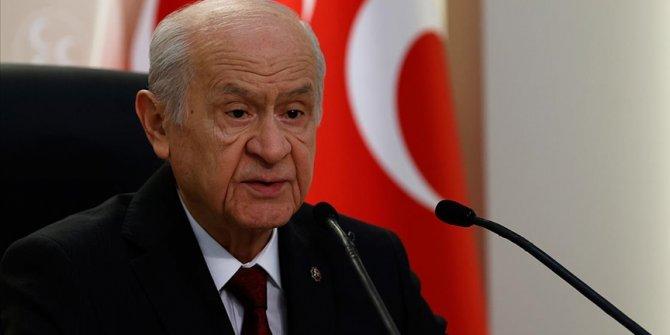 """MHP Genel Başkanı Bahçeli: """"Cumhur İttifakı'nın muazzez varlığını samimiyetle koruyacağız"""""""