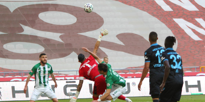 Konyaspor'un nizami golü verilmedi