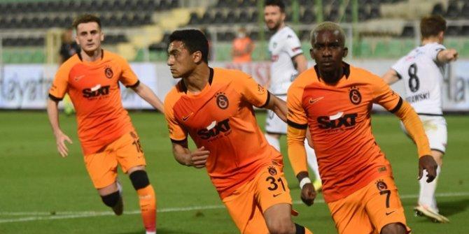 Galatasaray puan farkını kapattı