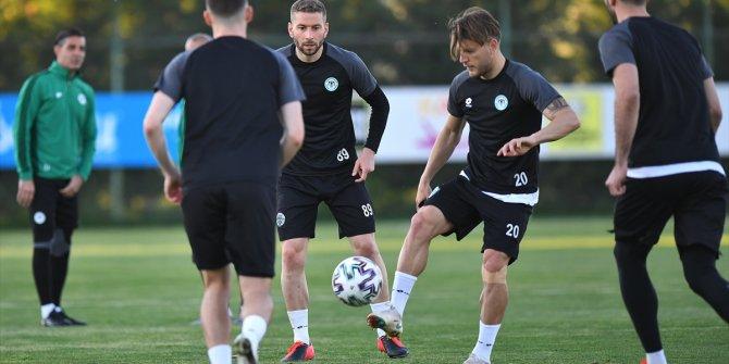 Konyaspor, Antalyaspor maçının hazırlıklarına başladı