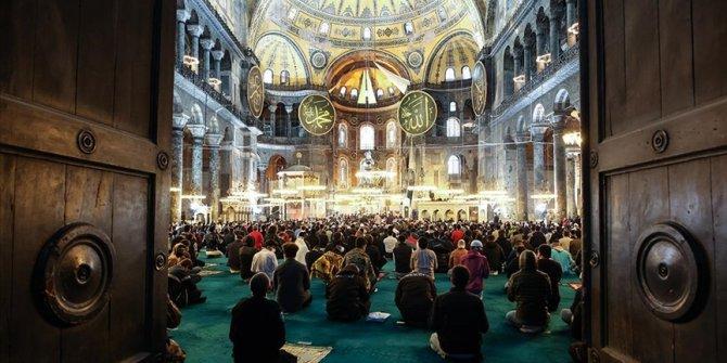 Turska: Prvi Ramazanski bajram-namaz u Aja Sofiji nakon 87 godina