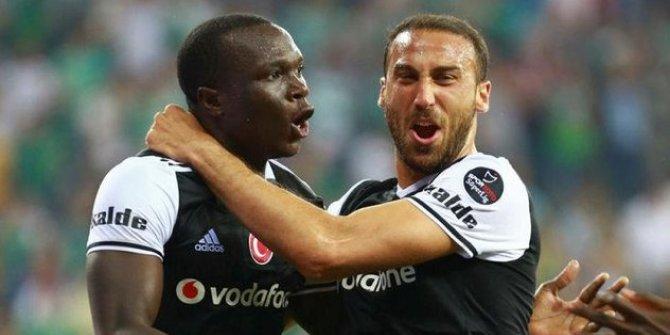 PFDK'dan Cenk Tosun'a 3 maç, Aboubakar'a 1 maç ceza