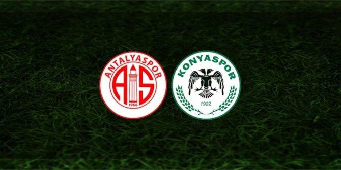 Antalyaspor - Konyaspor | İLK 11'LER BELLİ OLDU