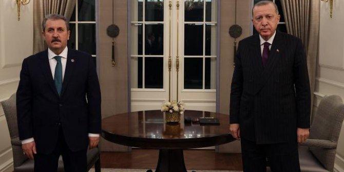 Cumhurbaşkanı Erdoğan ve Destici bayramlaştı