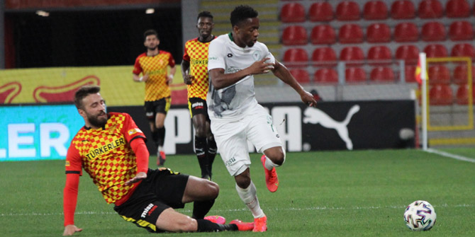 Konyaspor'dan dördüncü kez 4 maçlık seri