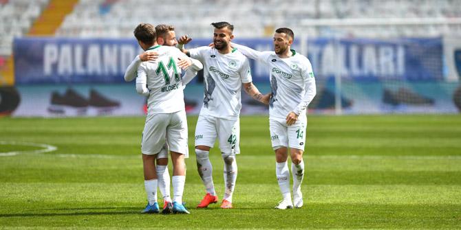 Konyaspor'dan 40 maçta 50 puan