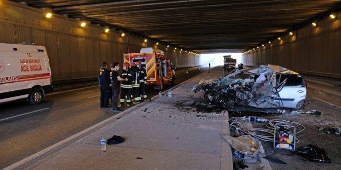 Konya'daki feci kazada 3 yaşındaki çocuk hayatını kaybetti
