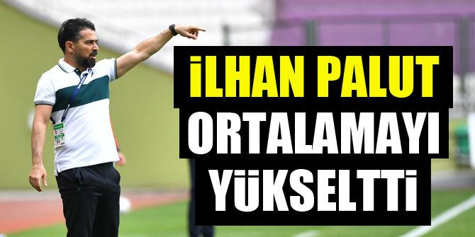 Konyaspor'da İlhan Palut ortalamayı yükseltti