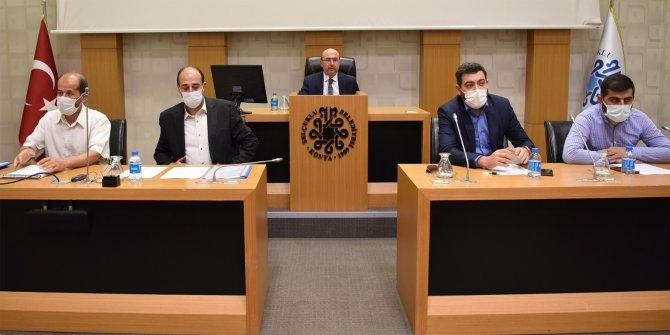 Selçuklu Belediyesi'nden Filistin'e yardım eli