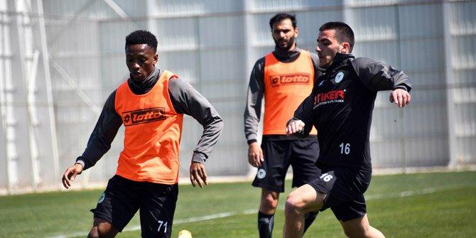 Jesse Sekidika, Konyaspor'a veda etti