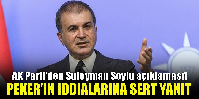 AK Parti'den Süleyman Soylu açıklaması! Sedat Peker'in iddialarına sert yanıt