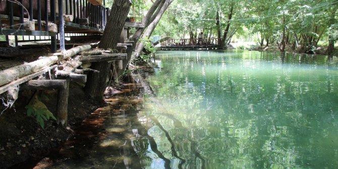 Kuraklık nedeniyle akarsulardaki su seviyesi düştü