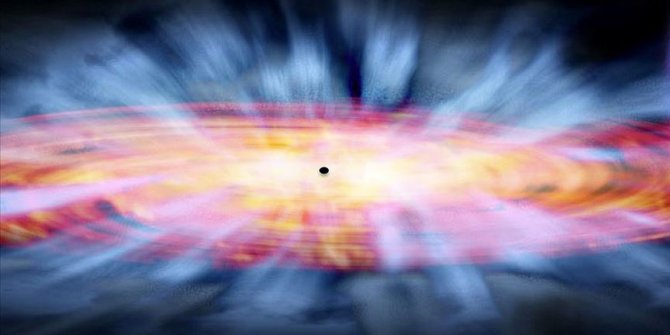 1 milyar ışık yılı uzaklıkta patlama