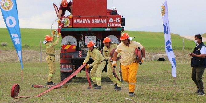 'Ateş avcıları' nefes nefese yarıştı