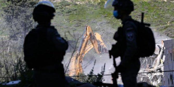 İsrail, Batı Şeria'da 25 Filistinliyi daha evsiz bıraktı