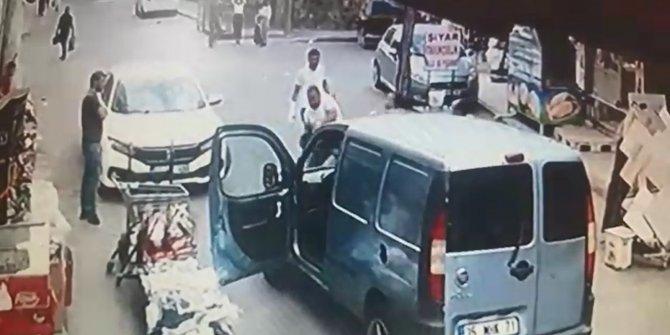 Kiraladığı otomobille kaza yapınca, tekme tokat dövüldü