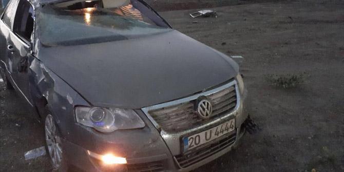 Konya yolunda otomobil şarampole devrildi: 1 ölü, 1 yaralı