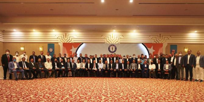 Sağlık-Sen Başkanlar Kurulu Toplantısı yapıldı