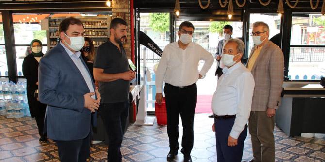 Milletvekili Erdem'den Akşehir'e ziyaret