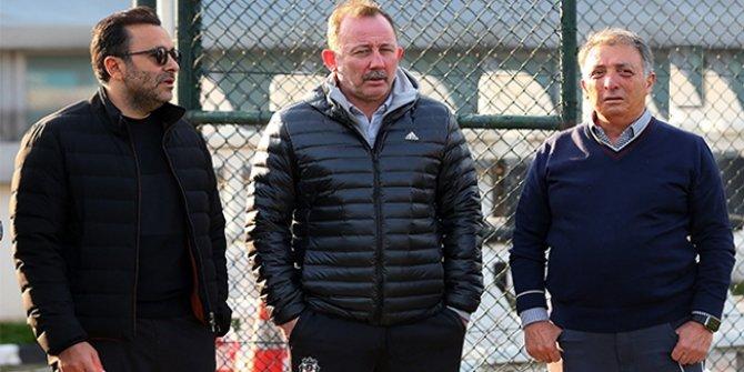 Beşiktaş'ta Sergen Yalçın zirvesi
