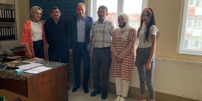 Başkan Karabacak'tan  Çumra'ya ziyaret