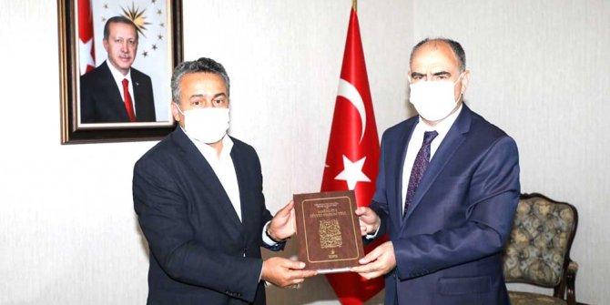 Başkan Tutal'dan Vali Özkan'a ziyaret