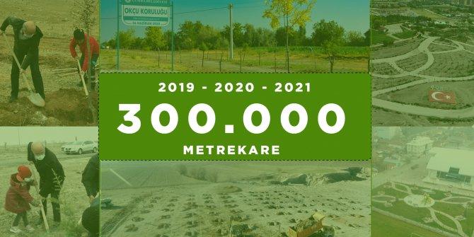 Çumra'da yeşil alan sayısı artıyor