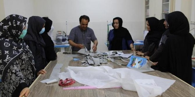 Turkey opens vocational training center for Afghan women