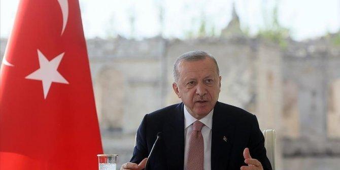 Turkish president pins hope for regional peace on 6-nation platform