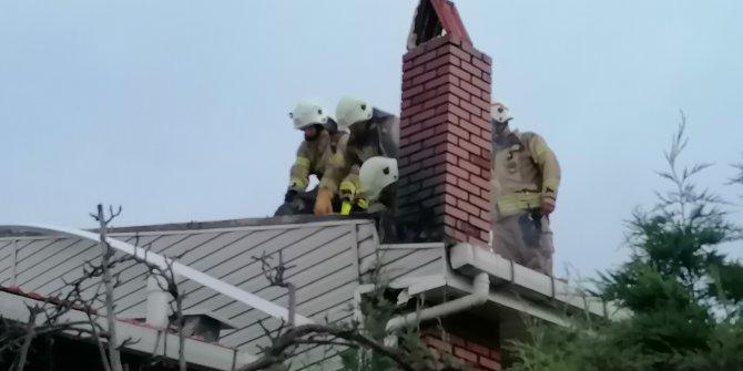 İki ayrı yangın çıktı