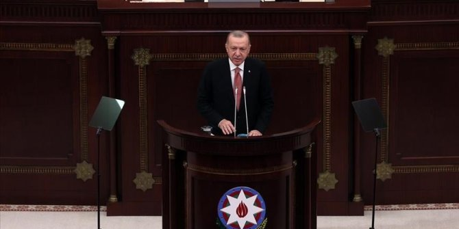 Erdogan u Bakuu: Neka cijeli svijet zna, Turska će uvijek biti uz Azerbejdžan