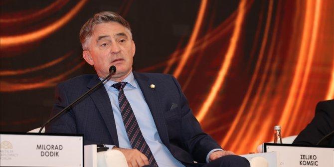 Komšić na Diplomatskom forumu u Antaliji: U doba pandemije treba nam više solidarnosti