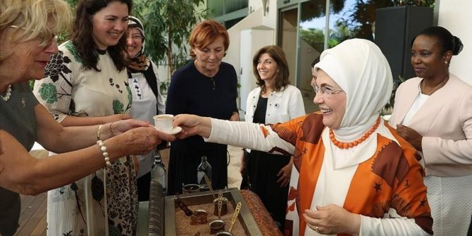 Turkey wants language of love to prevail in world: First lady