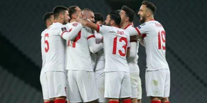 Milli Takım'da 8 futbolcu hiç süre alamadı
